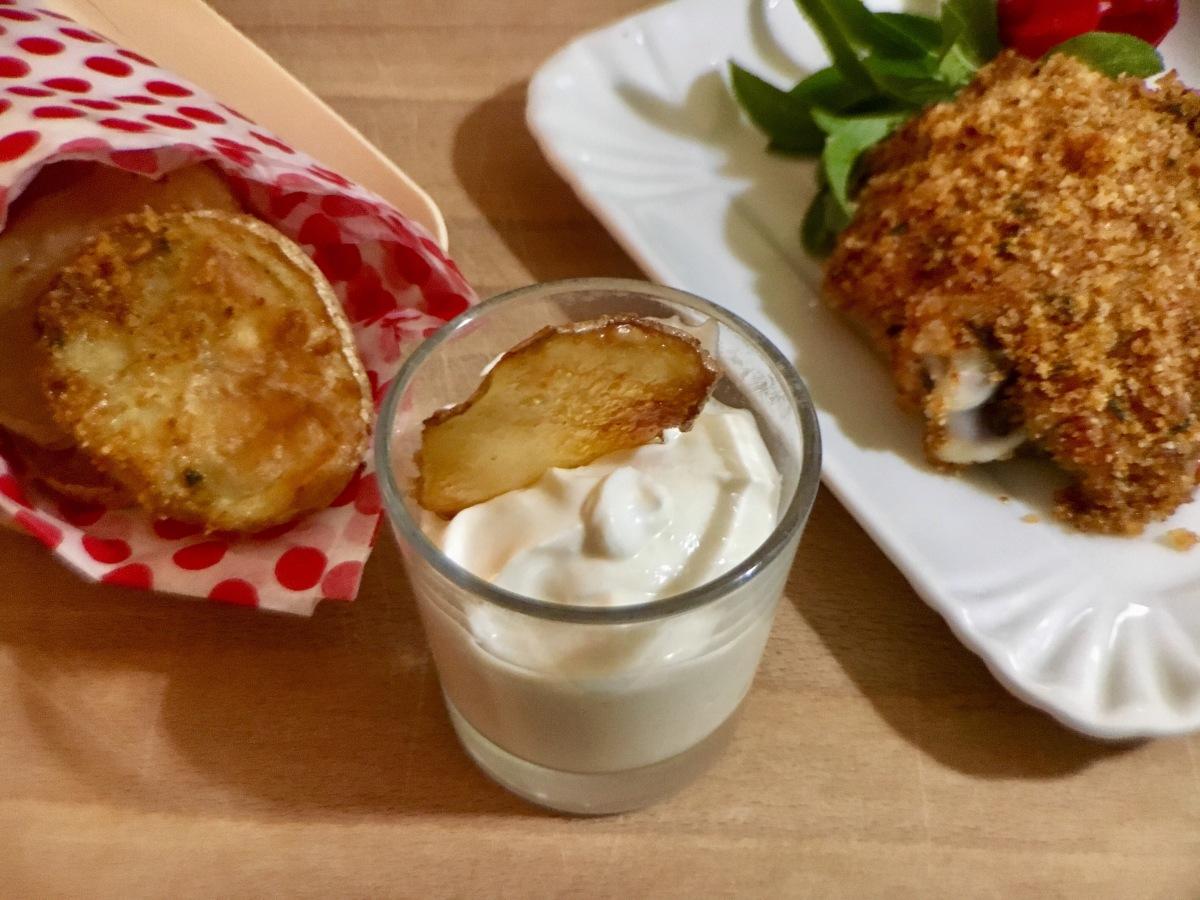 Garlic Sauce allo yogurt greco e pollo piccante