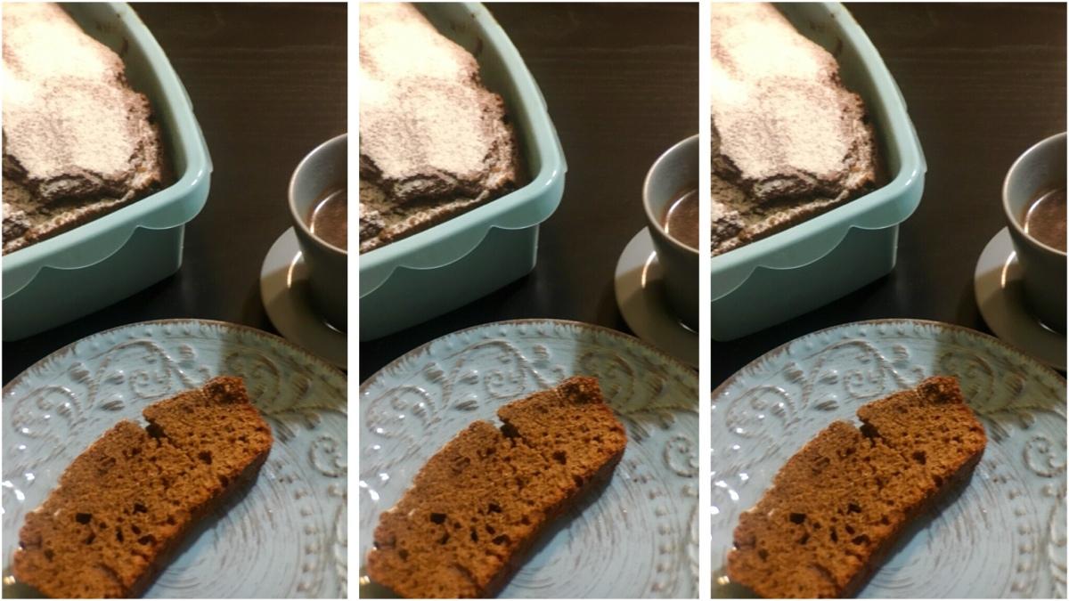 Plumcake caffè e nocciole tostate