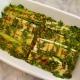 Porri alla griglia in salsa di senape e prezzemolo