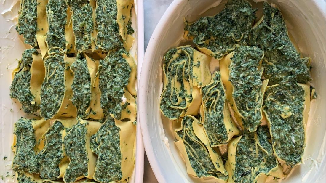 Cucinare una forma di amare rotolo spinaci ortica e for Cucinare ortica