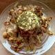 Ricotta al forno con funghi e cipolla di Tropea al gratin